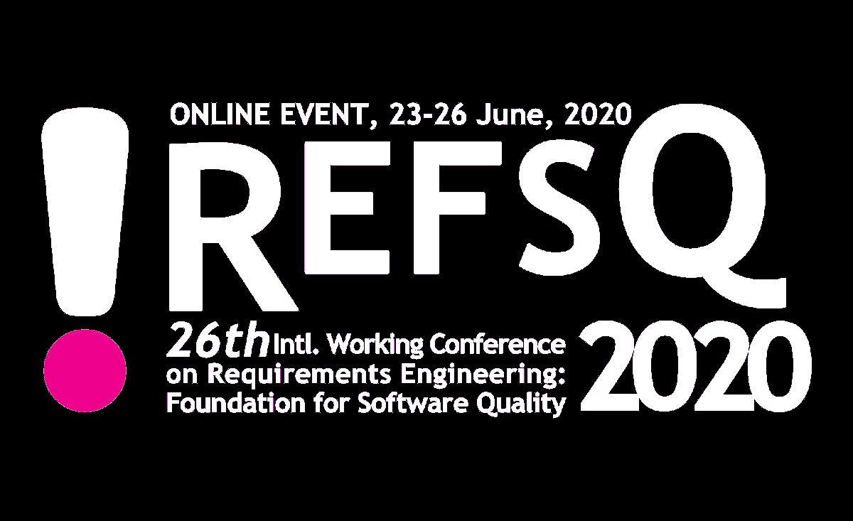 REFSQ2020 Logo